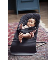BABYBJÖRN GULTUKAS BLISS, BLACK COTTON