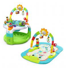 BRIGHT STARTS 2-IN-1 LIGHTS N LEARN VEIKLOS CENTRAS