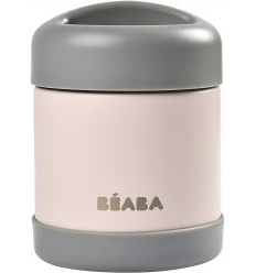 BEABA THERMO MAISTO INDELIS, 300 ML, DARK GREY/LIGHT PINK