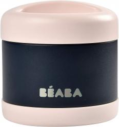 BEABA THERMO MAISTO INDELIS, 500 ML, NIGHT BLUE/LIGHT PINK