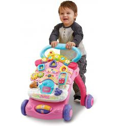 VTECH STUMDUKAS FIRST STEPS BABY WALKER, PINK