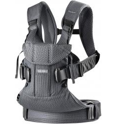 BABYBJORN NEŠIOKLĖ ONE AIR, ANTHRACITE 3D MESH