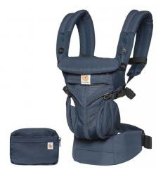 ERGOBABY OMNI 360 NEŠIOKLĖ, COOL AIR, MIDNIGHT BLUE