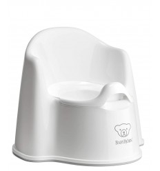 BABYBJÖRN NAKTIPUODIS POTTY CHAIR, WHITE/GREY