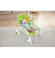 FISHER PRICE NEWBORN-TO-TODDLER VIBRUOJANTI KĖDUTĖ-GULTUKAS