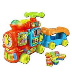 VTECH PUSH AND RIDE ALPHABET TRAUKINUKAS
