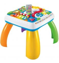 FISHER PRICE FUN LEARNING ŽAIDIMŲ STALIUKAS, DE