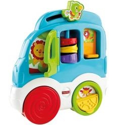 "FISHER PRICE LAVINAMASIS ŽAISLAS ""ANIMAL FRIENDS DISCOVERY CAR"""
