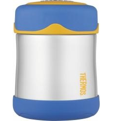 THERMOS STAINLESS STEEL MAISTO KONTEINERIS, 290 ML, BLUE