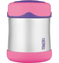THERMOS STAINLESS STEEL MAISTO KONTEINERIS, 290 ML, PINK