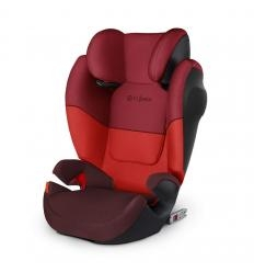 CYBEX SOLUTION M-FIX SL AUTOMOBILINĖ KĖDUTĖ, 15-36 KG., RUMBA RED