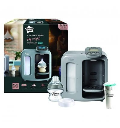 TOMMEE TIPPEE PERFECT PREP PIENO MIŠINUKŲ PARUOŠIMO APARATAS DAY & NIGHT, GREY, UK