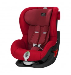 BRITAX RÖMER KING II LS AUTOMOBILINĖ KĖDUTĖ, 9-18 KG, BLACK EDITION - FLAME RED