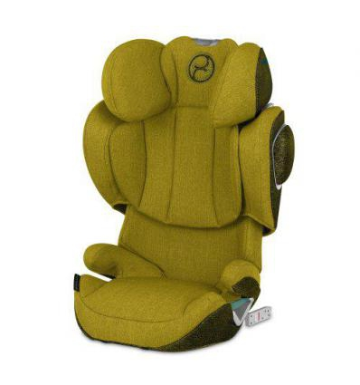 CYBEX SOLUTION Z I-FIX PLUS AUTOMOBILINĖ KĖDUTĖ, 15-36 KG., MUSTARD YELLOW